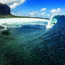 Le morne surfing